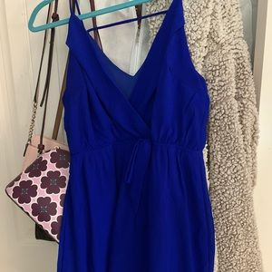Beautiful Blue Dress. Formal yet casual.